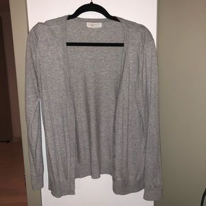 Forever 21 heather grey cardigan